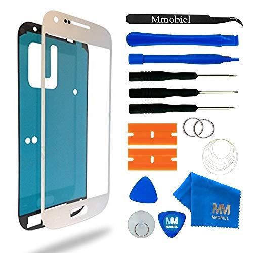 MMOBIEL Écran Tactile Compatible avec Samsung Galaxy S4 i9500 i9505 Series (Blanc) avec Kit d'Outils Complet