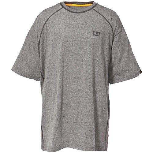 Caterpillar Herren T-Shirt C1510158 Performance Kohlegrau