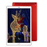 Tablet 10 Pollici 4G WiFi Dual SIM 32GB, 3GB RAM con Android 7.0 Quad Core offerte Bluetooth/GPS/OTG-Rosso