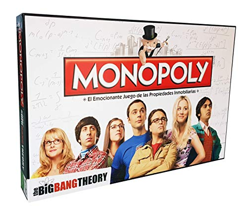 Monopoly The Big Bang Theory Edición Castellano