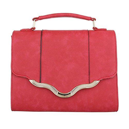 Ital-Design, Borsa a spalla donna Rot