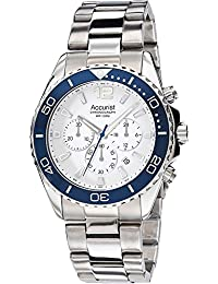Accurist MB946NW – Wristwatch men's, stainless steel silver strap