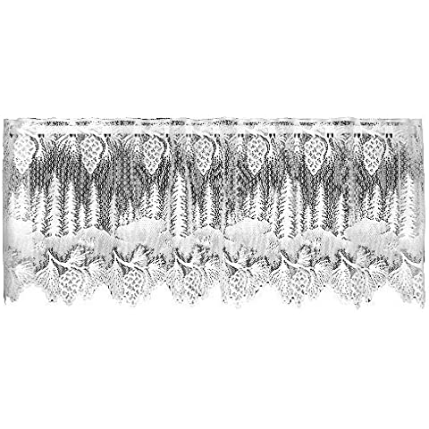 Heritage Lace Pinecone 60-Inch Wide by 16-Inch Drop Valance, Ecru by Heritage Lace