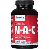 Jarrow Formulas, N-acétyl-L-cystéine, 500 mg, 200 capsules