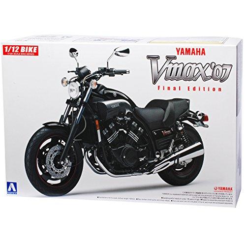 Aoshima Yamaha V-Max 2007 Final Edition Schwarz 51658 Kit Bausatz 1/12 Modell Motorrad Modell Auto - A/v-kit Modell