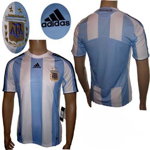 Argentinien Trikot Home 2007/09 Adidas Kindergröße 164 (Argentinien Home Trikot)