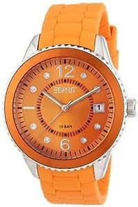 Esprit Damen-Armbanduhr marin 68 Analog Silikon A.ES105342005