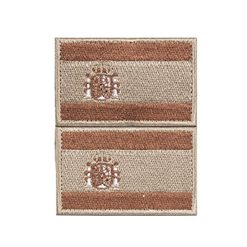 Imagen de envio 24h 2 parches velcro x españa bandera táctico bandera con velcro podría ser pegado a la ropa, chaleco, , mochila directamente tan 2059