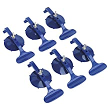 Sealey RE006 6pc Suction Clamp Set, Blue