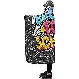 Henry Anthony 60X50 Zoll-mit Kapuze Decken-Konzept-Bildungs-Schulhand gezeichnete Decke Comfotable mit Kapuze Wurfs-Verpackung