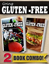 Gluten-Free Greek Recipes and Gluten-Free Quick Recipes In 10 Minutes Or Less: 2 Book Combo (Going Gluten-Free) (English Edition)