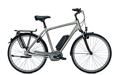 Kalkhoff - Bicicleta eléctrica deportiva para hombre Agattu B8, con motor Bosch y batería de 500 Wh, color Carbonitegrey matt,...