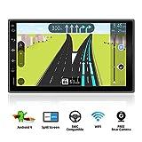 Android 9.0 Doppio Din Car Stereo Universale Radio Navigation Entertainment Multimedia 7' HD 1024 * 600 Touchscreen Support Google/Volante/GPS/WIFI/Bluetooth/MirrorLink fotocamera di back-up