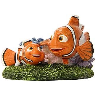 "Penn-Plax Finding Nemo and Marlin Aquairum Ornament 4"" 8"