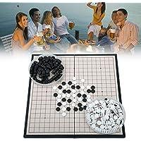 bulrusely Go Tablero De Ajedrez, Juego De Mesa Clásico De Estrategia De China Puzzle Go Set 28.5 28.5CM