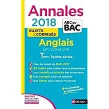 Annales ABC du Bac Anglais L-ES-S 2018