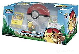 Pokèmon colección Poke Ball Pikachu y eevee, Color Coloreado, 820650309625290 - 30962