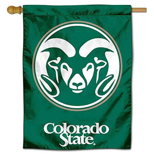 College Flags and Banners Co. Colorado State University Rams House Flagge - Colorado State University