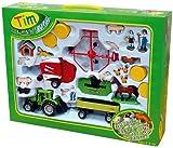 TIM Bauernhofset 1:32 Traktor, Schwader, Presse TIM /Siku