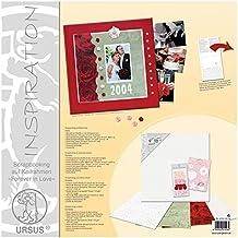 URSUS 67010002No Scrapbooking Forever in Love, Bastidor, material decorativo. E instrucciones