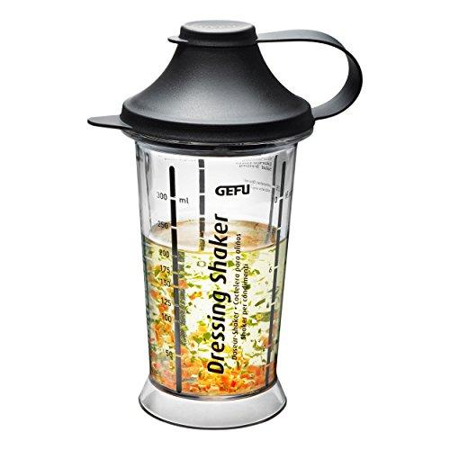 Gefu Mix Up Dressing-Shaker, Mixer, Mixbecher, Handshaker, Kunststoff / Acrylglas, 14471