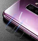 SOCINY [Pack of 2] Pellicola salvaschermo per fotocamera resistente ai graffi di Samsung Galaxy S9, protezione per lenti del telefono [in vetro temperato] (per Samsung Galaxy S9, 2 PCS)