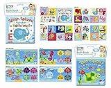 First Steps - Baby Badebücher Plastik Beschichtet Spaß Lernbücher Spielzeug Kleinkind Baby - Splash Alphabets