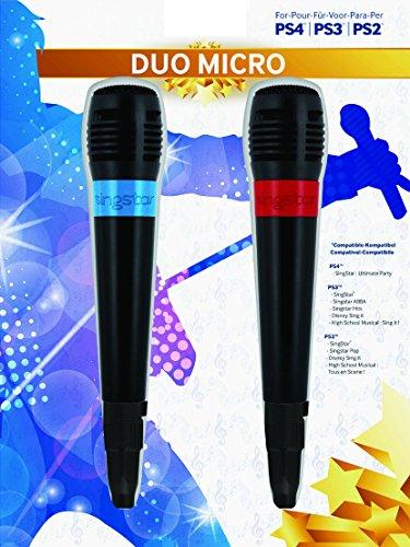 BigBen - Pack De 2 Micrófonos Singstar Con Cable USB (PS4, PS3)