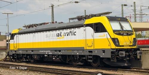 N FL E-Lok Rh 487 swiss rail traff