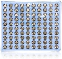 Generic 100 pcs LR41 AG3 SR41 392 192 LR736 Watch Button Cell Battery -