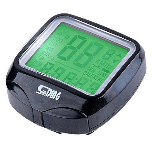 Velocímetro LCD para Bicicleta, con retroiluminación, Resistente al Agua, LED