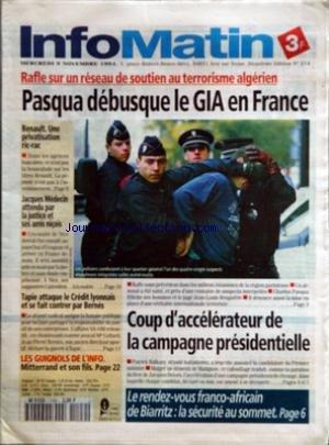info-matin-no-214-du-09-11-1994-rafle-sur-un-reseau-de-soutien-au-terrorisme-algerien-pasqua-debusqu