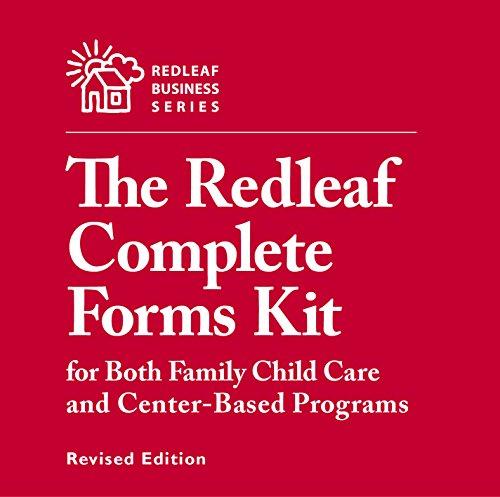 Home-organisation Center (Redleaf Complete Forms Kit for Both Family Child Care and Center-Based Programs, Revised Edition (Redleaf Business))