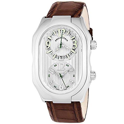 Philip Stein Men's Prestige Brown Leather Band Swiss Quartz Watch 12-LW-ABR