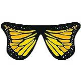 Cinturino da Donna con anello e Scialle a Farfalla,VRTYOC Morbidi ali di Farfalla in Tessuto Fata Ninfa Ninfa elf accessori di abbigliamento Arancia Size:147 * 70CM