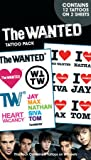 The Wanted Temporary Tattoos , 11x18 cm