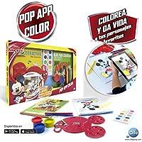 Disney Mickey Mouse Cuaderno de Actividades para Colorear con animación 3D, Cife Spain 41608