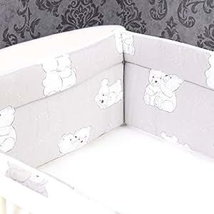Bettumrandung Nestchen Kopfschutz 360x30 cm Bettnestchen Baby Design 1 NEU