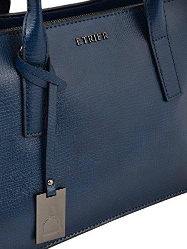 Sac à main Tess cuir TESS Bleu