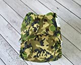 Lukzer (1 Pc) Army Camouflage Reusable New Adjustable (for All Sizes) Baby Washable