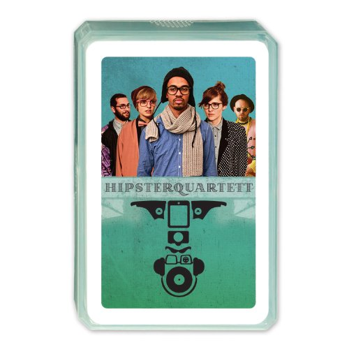 Berliner Hipsterquartett, Kartenspiel, 32 Karten