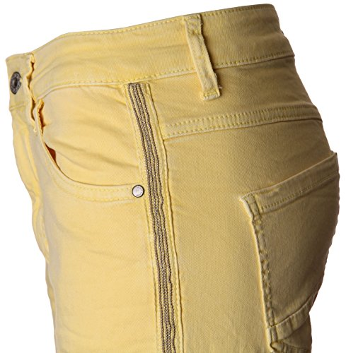 Basic.de -  Pantaloni  - Donna -Gelb