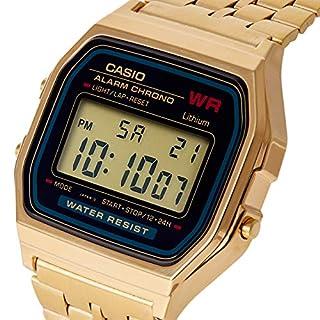 Casio Collection Women's Watch A159WGEA-1EF (B005FEY47Q)   Amazon price tracker / tracking, Amazon price history charts, Amazon price watches, Amazon price drop alerts
