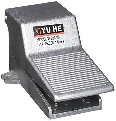 1/10,2cm TNP antidérapante momentané pédale pneumatique Valve Air Interrupteur
