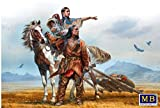 """'Master Box mb35189Figura on The Great Plains, Indian Wars Series """""""