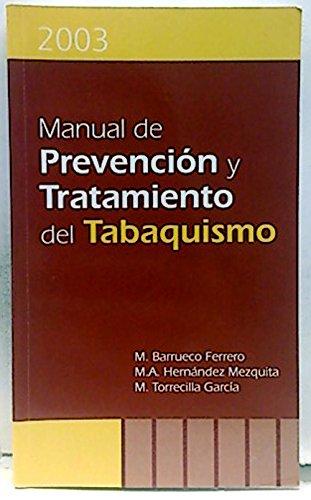Portada del libro Manual de Prevención y Tratamiento del Tabaquismo