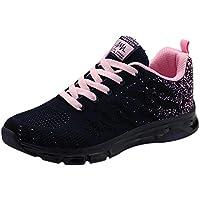 ELECTRI Femme Chaussures de Course Running Sport Compétition Trail entraînement Coussin d'air Basket Sneakers Cales Outdoor Running Sports Fitness Gym Shoes