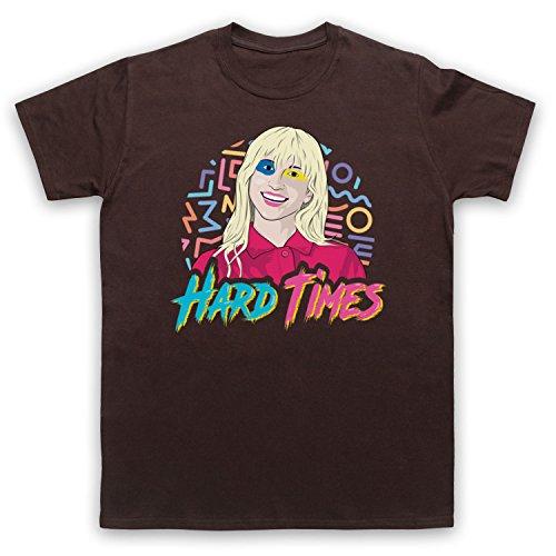 Paramore Hard Times Herren T-Shirt Braun