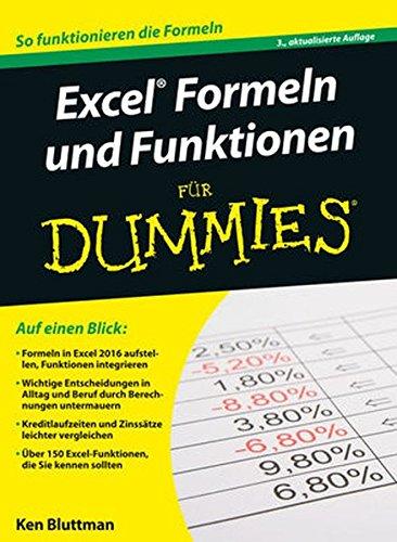 Excel Formeln und Funktionen für Dummies