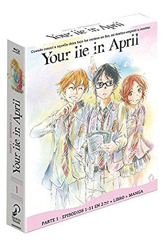 Your Lie In April – Parte 1 (Episodios 1 a 11) – Edición Coleccionista [Blu-ray] 51Jkqmw 2B OL